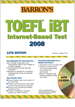 BARRON'S TOEFL iBT Internet-Based Test 2008